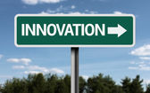 Innovation creative sign — Stock Photo