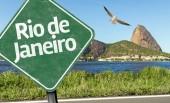 Rio de Janeiro Sign — Stock Photo