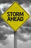 Storm Ahead Creative sign — Stock Photo
