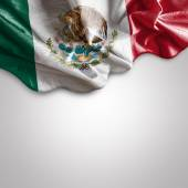 Waving flag of Mexico — Stock Photo