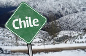 Chile Sign — Stock Photo