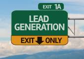Creative Lead Generation Exit Only — Stock Photo