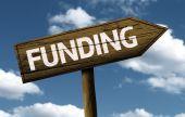 Funding creative sign — Stock Photo