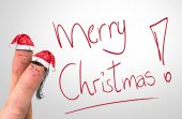 Merry Xmas hand writing — Stock Photo