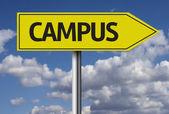Campus creative sign — Stock Photo