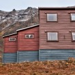 Traditional house in Svalbard — Stock Photo #63647441