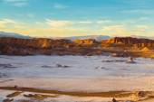 Moon valley in Atacama — Stock Photo
