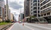 Paulista Avenue in Sao Paulo — ストック写真