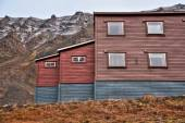 Traditional house in Svalbard — Stock Photo
