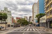 Consolacao Avenue in Sao Paulo — Stock Photo