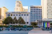 Union Square in Downtown San Francisco — Zdjęcie stockowe