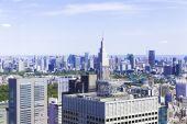 Horizonte de Tokio — Foto de Stock