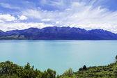 Wakatipu lake in Queenstown — Stock Photo