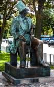Hans Christian Andersen statue in Copenhagen — Stock Photo