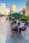Union Square in Downtown of San Francisco — Zdjęcie stockowe