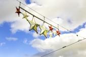 Decorative Stars in Melbourne — Stock Photo