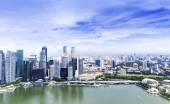 Urban landscape of Singapore — Stock Photo