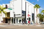 Chanel Store in Rodeo Drive in Beverly Hills — Stock Photo