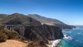 Big Sur and its rocky coastline — Stock Photo