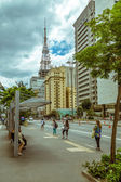 Paulista Avenue in Sao Paulo — Stock Photo