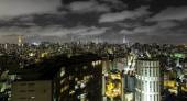 Sao Paulo at night — Stock Photo