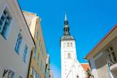 The Old Town in Tallinn, Estonia, Europe — Stock Photo
