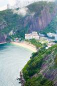 Luftbild von Botafogo Strand in Rio De Janeiro, Brasilien — Stockfoto