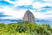 The Sugarloaf Mountain in Rio de Janeiro, Brazil — Stock Photo