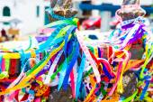 Ribbons of the Lord of Bonfim, Salvador, Bahia - Brazil — Stockfoto