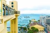 Aerial view of Salvador City in Bahia, Brazil — Fotografia Stock