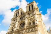 Cathédrale Notre-Dame de paris, france — Photo