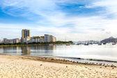 Botafogo beach in Rio de Janeiro, Brazil — Stock Photo