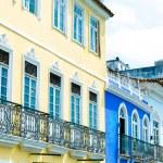 Pelourinho, the famous Historic Centre of Salvador, Bahia in Brazil. — Stock Photo #64988729