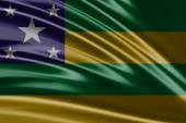 Flag of the State of Sergipe — Stock Photo