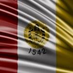 Flag of the States of San Diego — Stock Photo #66060327