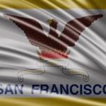 Flag of the States of San Francisco — Stock Photo #66060359