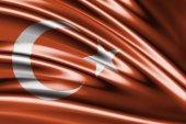 Amazing Flag of Turkey — Stock Photo
