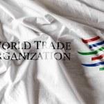 World trade organization flag — Stock Photo #66138841