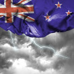 New Zealand waving flag — Stock Photo #66141681