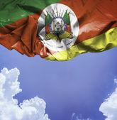 Rio Grande do Sul waving flag — Stock Photo