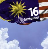 September 16, Malaysia Independence — Stock Photo