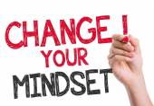 Change your Mindset written on the wipe board — Stock Photo