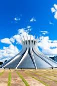 Cathedral of Brasilia, Brazil — Stock fotografie
