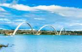 Jk мост в Бразилиа, Бразилия — Стоковое фото