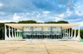 Supreme Federal Tribunal in Brasilia, Brazil — Stock Photo