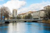Zurich in Switzerland, Europe — Stock Photo