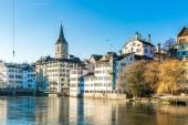 Zurigo in Svizzera, Europa — Foto Stock