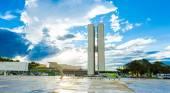 Brasilia, the capital of Brazil. — Stock Photo