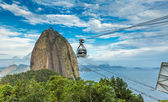 RIO DE JANEIRO, BRAZIL - CIRCA NOVEMBER 2014: The Sugarloaf Mountain in Rio de Janeiro, Brazil — Stock Photo