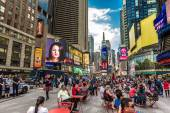 The famous Times Square in New York, USA — 图库照片